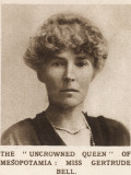 Gertrude Bell: the 'Uncrowned Queen' of Mesopotamia, Photographic Print