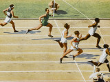 Olympics, 1932, Men 100M Photographic Print
