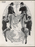 Showgirl on Pig 1926 Photographic Print