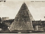 Pyramid of Cestius, Rome Photographic Print