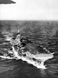 HMS 'Indomitable' at Sea, Second World War, 1945 Photographic Print