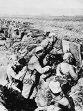 German Trench on the Aisne During World War I Photographic Print by Robert Hunt