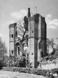 Ruins of Nether Hall Photographic Print
