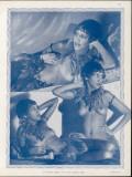 Josephine Baker Folies Bergere Dancer Photographic Print