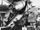 155 Mm Gun Near Vrely, Somme During World War I Photographic Print by Robert Hunt