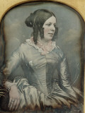 Portrait of a Victorian Lady Photographic Print by Vanessa Wagstaff