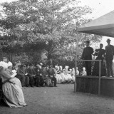 Open Air Church Service at a Workhouse Photographic Print by Peter Higginbotham