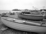 Boats on Brighton Beach, Sussex Photographic Print by Vanessa Wagstaff