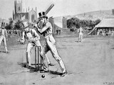 Fuller Pilch Batting for Kent, 1837 Photographic Print