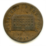Sheffield Workhouse Token, 1815 Photographic Print by Peter Higginbotham