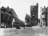 Carfax Tower and Boffin's Bakery, High Street, Oxford Photographic Print