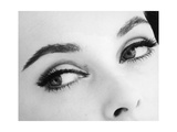 A Woman's Eyes with Typical Sixties Make-Up Photographic Print