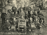 Boys' Band at Hollybrook Cottage Homes, Southampton Photographic Print by Peter Higginbotham