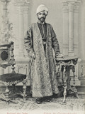 Richard of India. an Indian Maharajah During a Visit to Constantinople Photographic Print