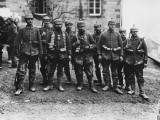 German Crack Soldiers on the Western Front During World War I Photographic Print by Robert Hunt