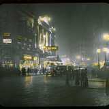 Piccadilly Circus by Night Photographic Print