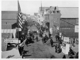 Front Street, Nome, Alaska During the Gold Rush Photographic Print