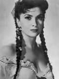 Gina Lollobrigida Italian Film Actress Dressed as a Gipsy Photographic Print