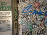 Part of the Berlin Wall, Checkpoint Charlie Museum, Berlin Photographic Print