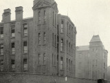 Infirmary Ward Blocks at Hackney Union Workhouse on Homerton High Street Photographic Print by Peter Higginbotham