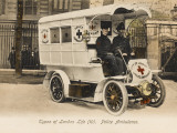 Police Ambulance - London Photographic Print