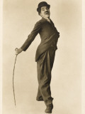 Pioneer Film Comedian Charlie Chaplin Photographic Print