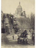 Paris, Sacre Coeur 1907 Photographic Print