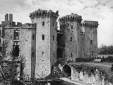 Raglan Castle Photographic Print