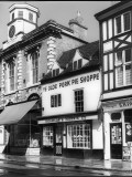 Pork Pie Shop 1960s Photographic Print