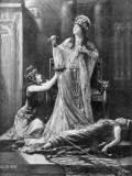 Lily Langtry English Actress in the Roll of Cleopatra in Shakespeare's Anthony and Cleopatra, Photographic Print