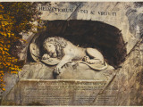 Lucerne: the Lion Sculpture Photographic Print