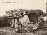 Plouharnel-Carnac (Bretagne) the Dolmen De Crucuno Reproduction photographique