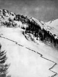 Italian Alpini Climbing Monte Adamello Photographic Print