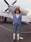 Little Girl at Kenley Air Show Photographic Print by Vanessa Wagstaff