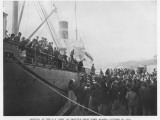 Alaska Miners Leave Nome for Seattle as Winter Starts to Close in Photographic Print