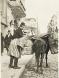 Baker Delivering Bread - Constantinople, Turkey Photographic Print