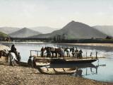 Chaland on the River Katouni, Siberia, Russia Photographic Print