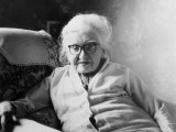 A Venerable Old Lady in Spectacles Sitting in an Armchair Photographic Print by Vanessa Wagstaff