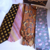 Four Yves Saint Laurent Ties Photographic Print by Vanessa Wagstaff