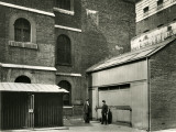 Exterior of the Execution Shed (Right of Picture) at Newgate Prison, Central London Photographic Print by Peter Higginbotham