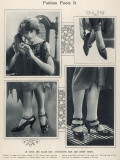Fashion Foots It Photographic Print
