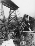 Collapsed Bridge, Poland 1914 Photographic Print by Robert Hunt