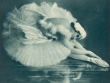 Anna Pavlova (1881-1931) Russian Ballet Dancer Photographed Here in Swan Lake in 1920 Photographic Print