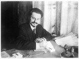 Leon Trotsky Russian Statesman, at Brest- Litovsk 1918 Photographic Print