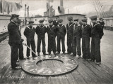 Compass Drill, Training Ship Arethusa, Greenhithe, Kent Photographic Print by Peter Higginbotham