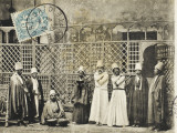 Egypt - Group of Mevlevi Dervishes Photographic Print