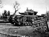 Churchill Avre Tank Entering Geilenkirchen; Second World War Photographic Print