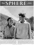 Edmund Hillary and Tensing Photographic Print
