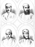 Four Leading Cricketers of 1874 Photographic Print