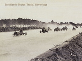 Brooklands Motor Racing Photographic Print